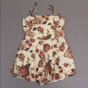 Floral Romper (WITH TAGS)